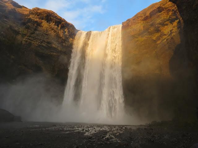 Skógafoss waterfall iceland