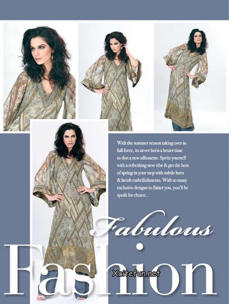 Gul Ahmed Chiffon Suits Collection - Fashion Style