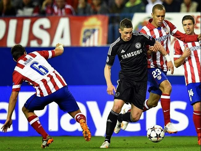 Chelsea vs Atletico Madrid Champions League Semi Finals