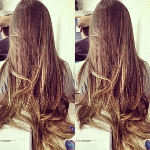 Long and smooth women hair style