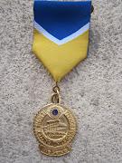 Ecco, cari amici, la medaglia di apprezzamento al Lions Pasquale Di Ciommo.