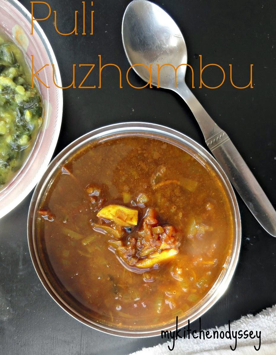 Poondu Kulambu recipe/Puli kulambu