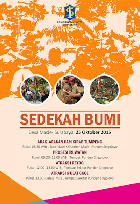 Hadiri, Gelaran Sedekah Bumi Desa Made-Surabaya