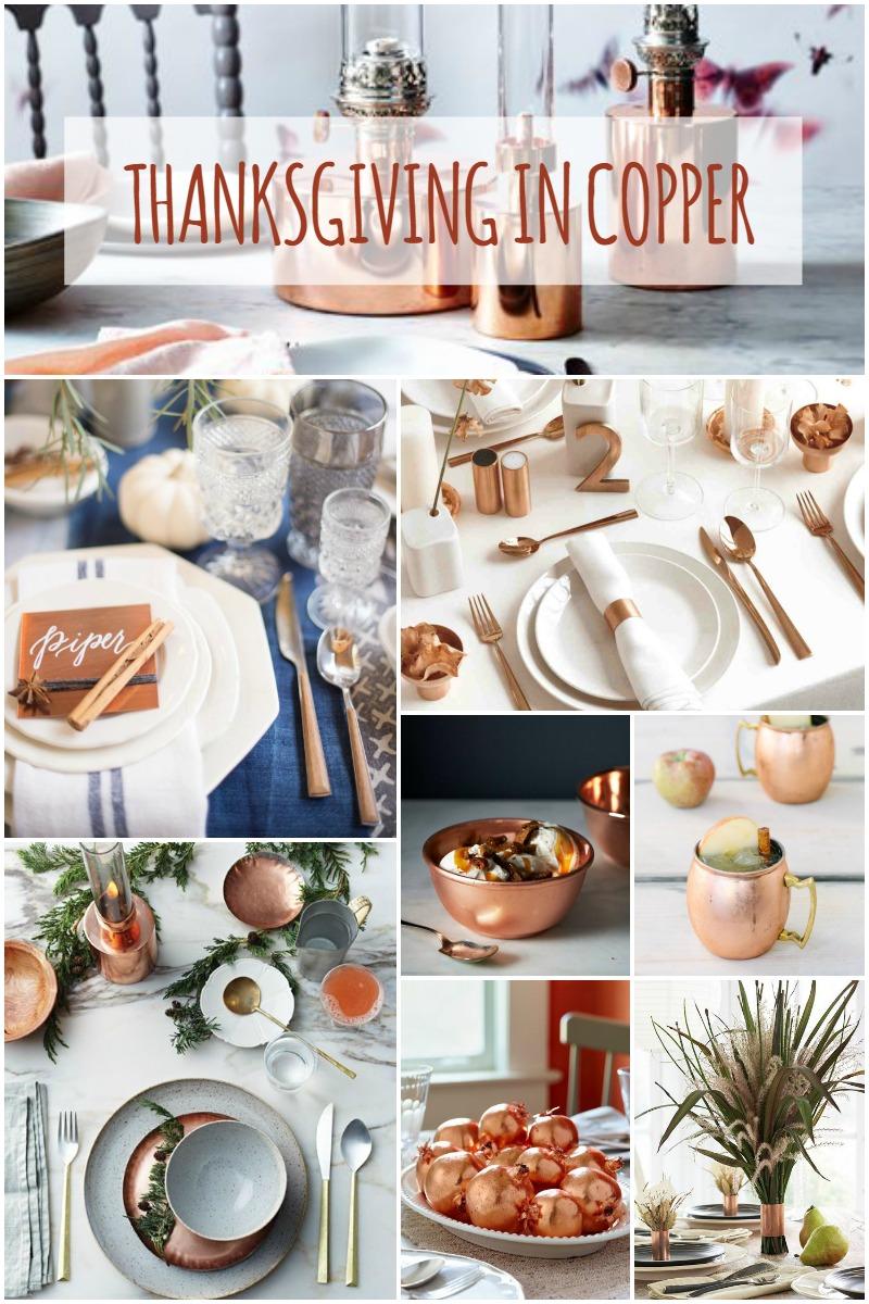 Celebrate Thanksgiving in copper