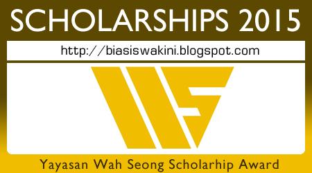 Yayasan Wah Seong Scholarhip Awards 2015