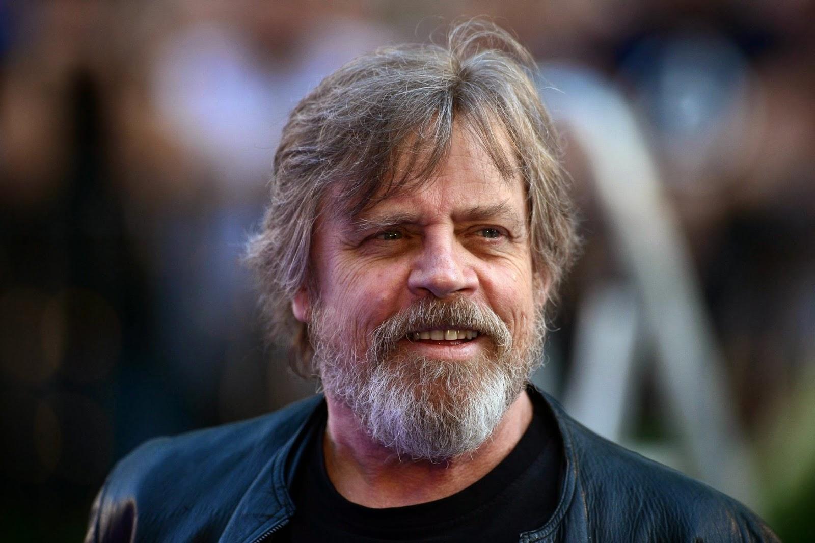 mark hamill with beard