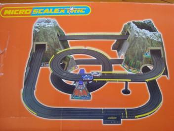Circuito Superslot Micro que simula un puerto de montaña