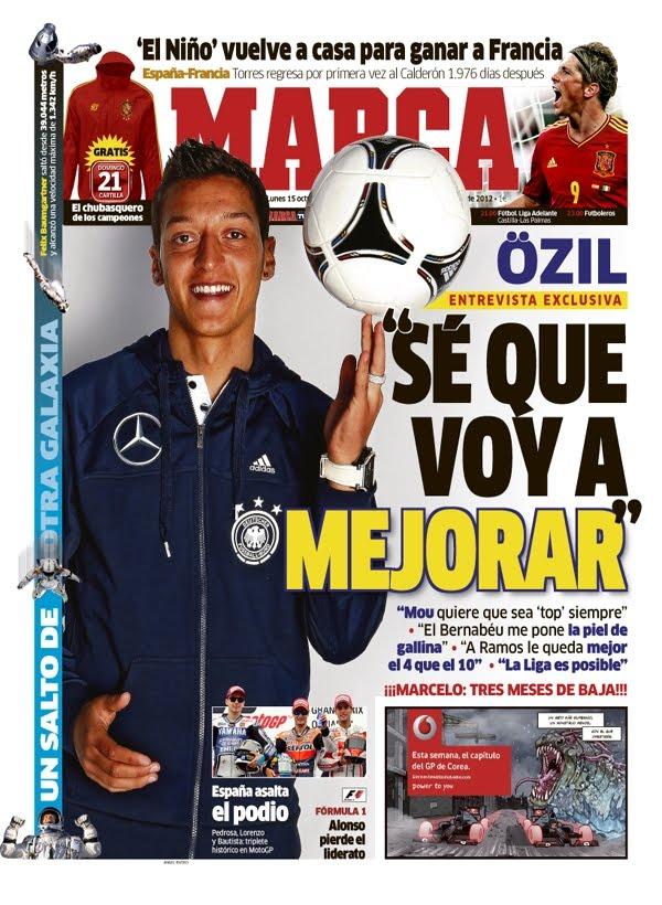 Así analizó Mesut Özil su arranque de temporada…