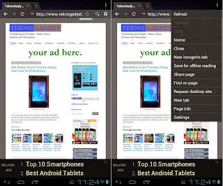 SKK Mobile Phoenix Tab 4 Browser