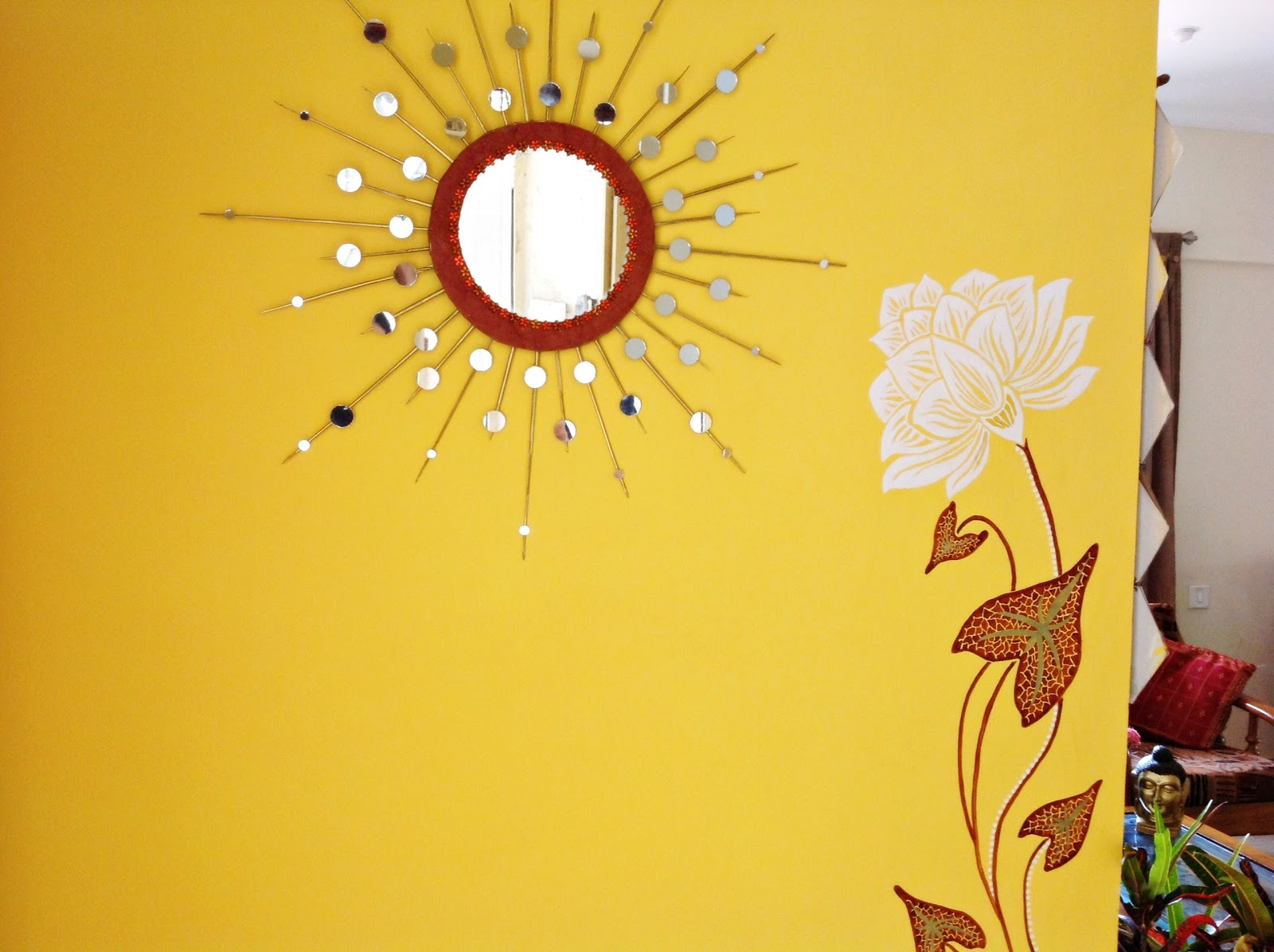 Design Decor & Disha | An Indian Design & Decor Blog: DIY: Sunburst ...