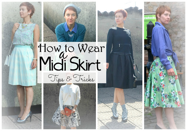 Tips & Tricks on How To Wear a Midi Skirt