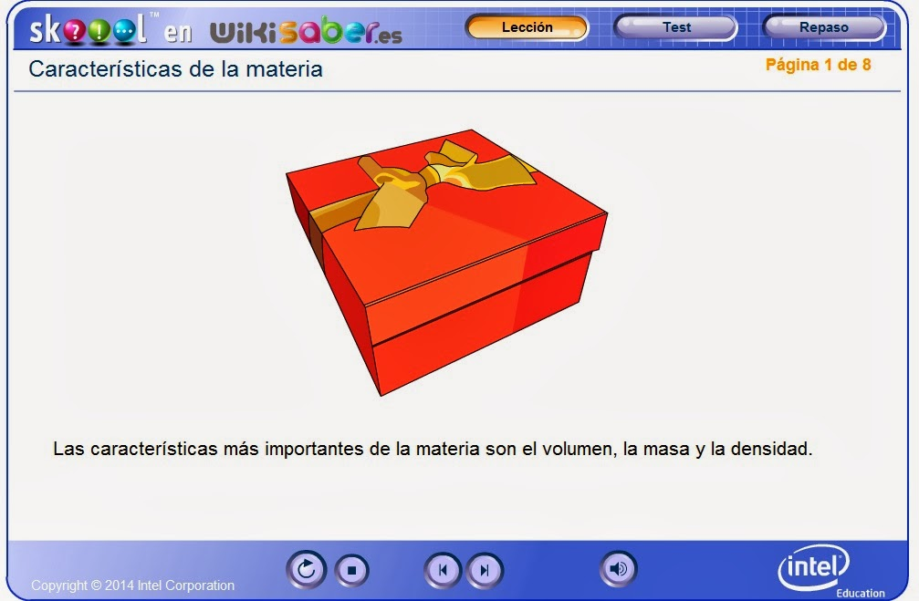 http://www.wikisaber.es/Contenidos/LObjects/characteristics_of_matter/index.html