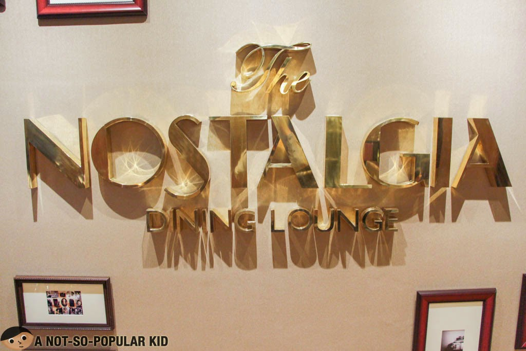 The Nostalgia Dining Lounge of Oakwood Premier