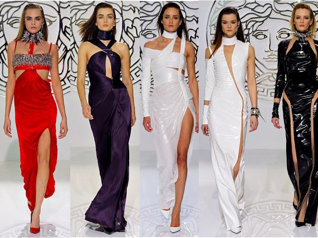 Versace Fall 2013 Vunk Theme