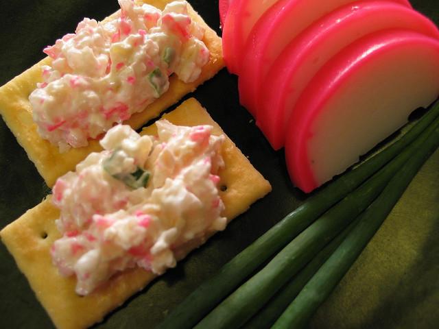 Kaukau time kaukau is a hawaiian pidgin slang word meaning kamaboko japanese fish cake crab dip forumfinder Image collections