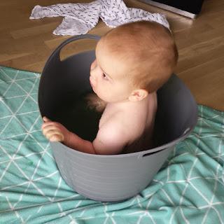 ondeugendespruit verven baby wassen
