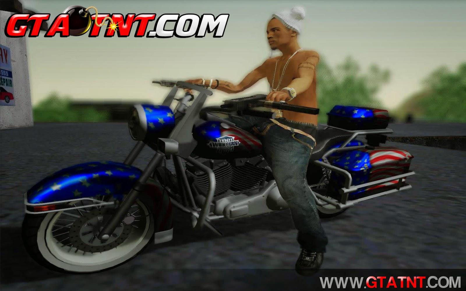 Western Sovereign Convertido do GTA V para GTA San Andreas