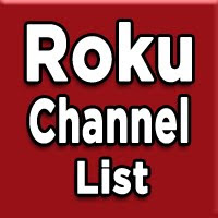 roku channels codes list