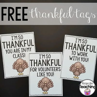 https://www.teacherspayteachers.com/Product/Thankful-Tags-2207909