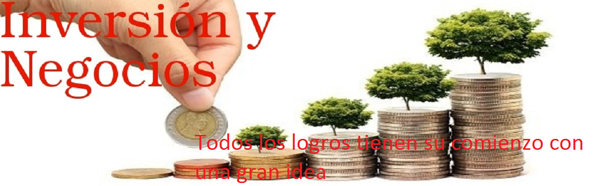 INVERSIÓN Y NEGOCIOS PARA HACER DINERO