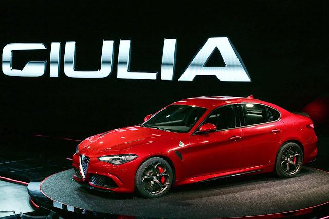 Fotos del Nuevo Alfa Romeo Giulia 2016