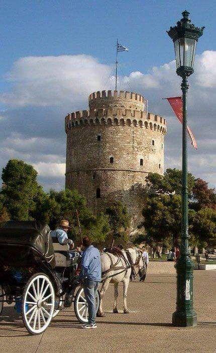 Βόλτα με την άμαξα στον Λευκό Πύργο