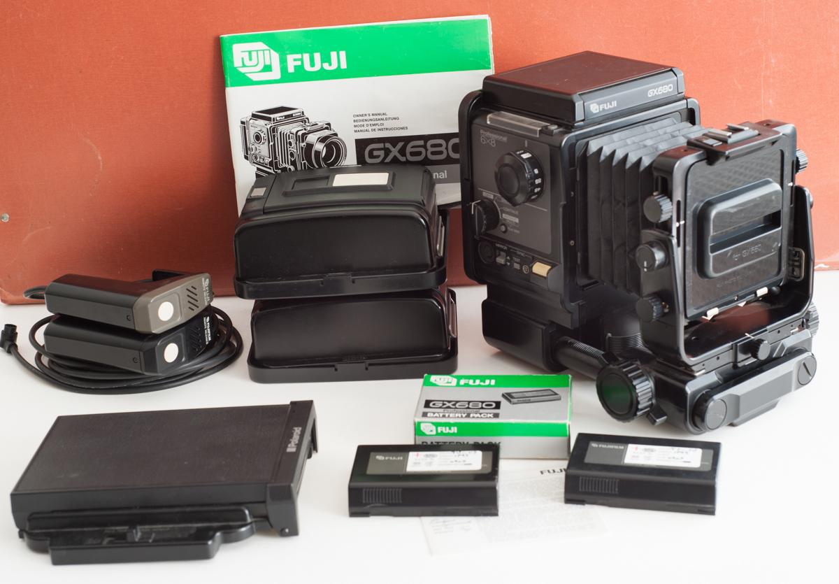Vendo cámara fuji GX680