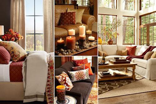Vestindo sua casa para o Outono