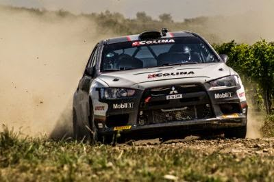 Sebastian Barbu si Sergiu Itu - Mitsubishi Lancer EVO X - teste pentru Raliul Iasului