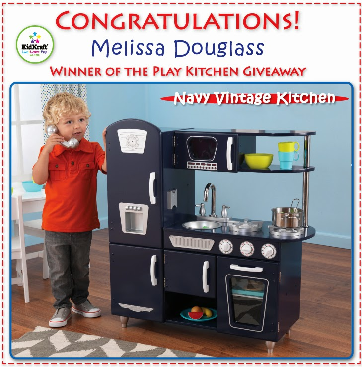 KidKraft Toys & Furniture: Congratulations Melissa Douglass. Winner Of The Play Kitchen Giveaway