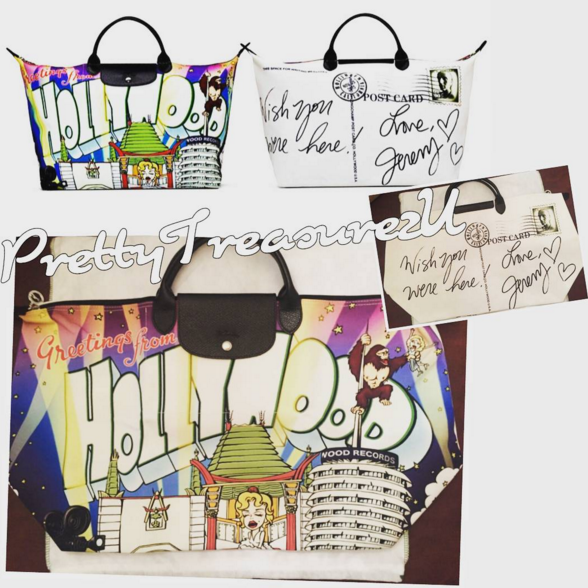Longchamp Jeremy Scott Hollywood