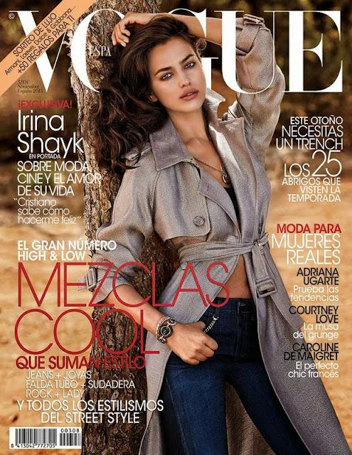 Portada Vogue noviembre 2013
