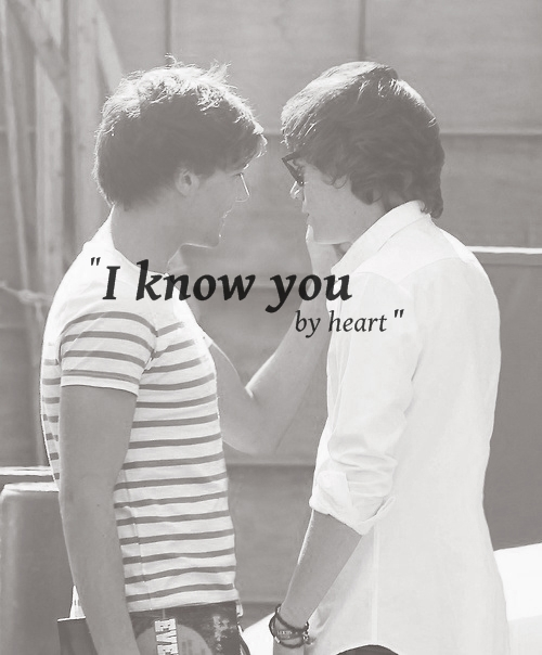 """I know you by heart"""
