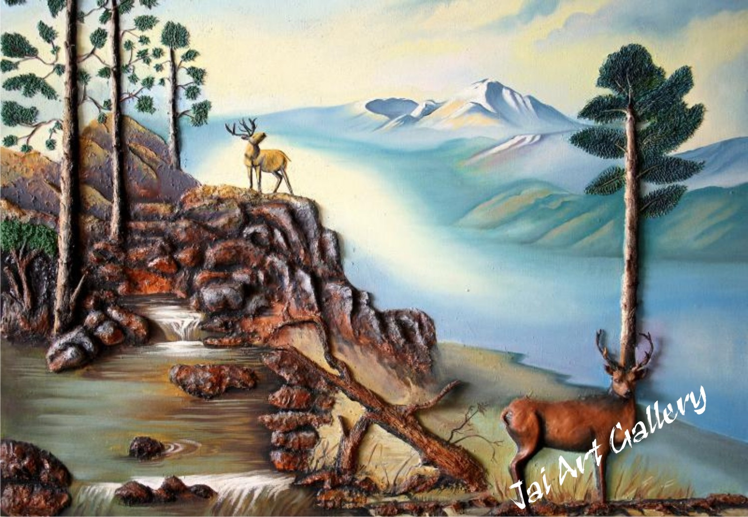 Jai art gallery mural works for Artistic mural works