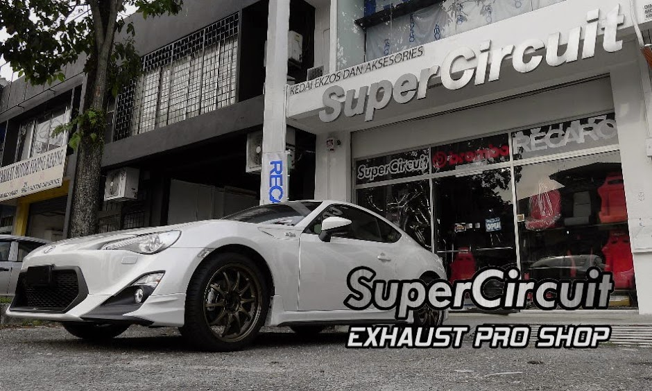 SUPERCIRCUIT Exhaust Pro Shop