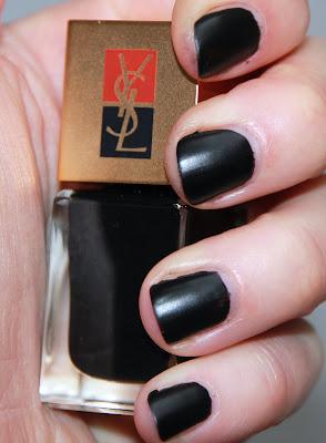 yves saint laurent ysl duo manucure couture n°6 terriblement noir test swatch avis essai blog id=