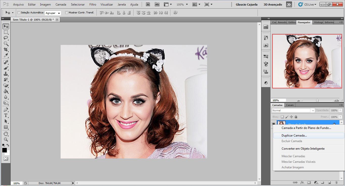 Clareando A Pele Tutoriais Photoshop