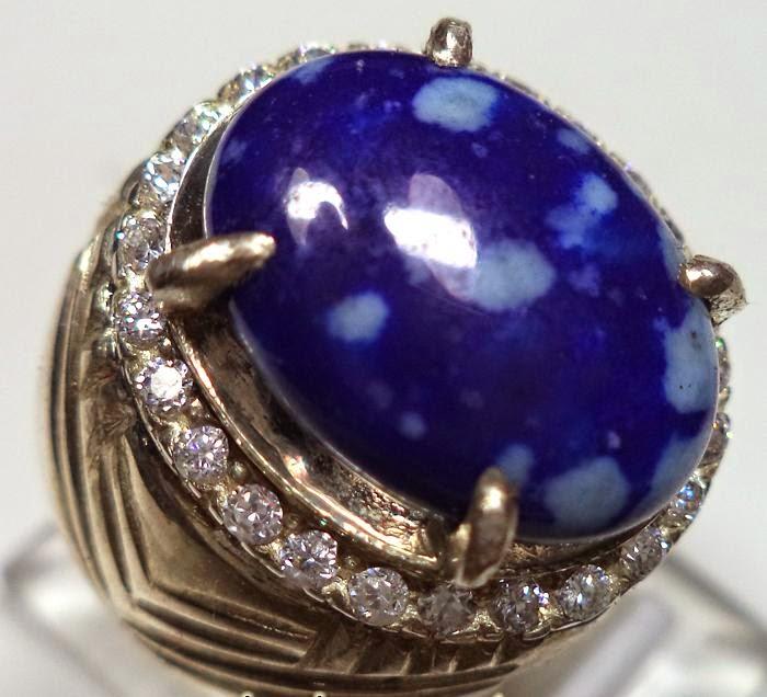 Batu Cincin Lapis Lazuli