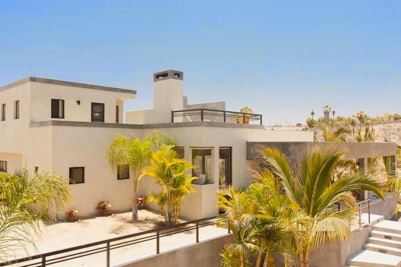 Casas sostenibles en Tres Santos, Baja California, México