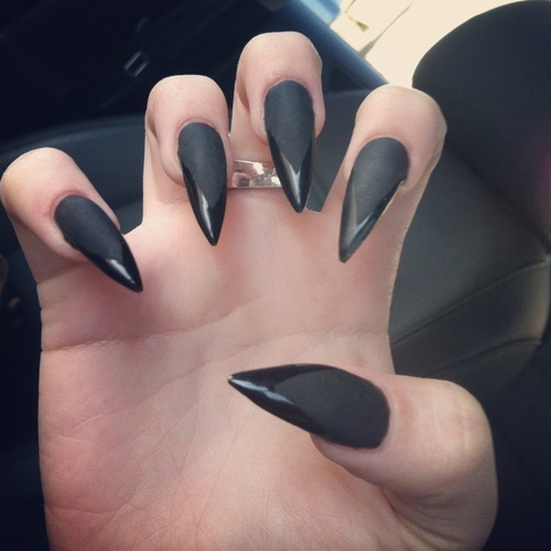 chanel after coco nail frenzy stiletto nails