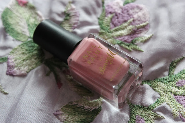 barry m nail paint mulberry pink