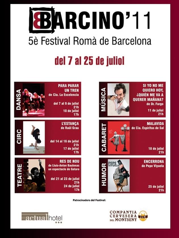 MALAVIDA  de Espíritus de sal en el Festival Barcino 11 (Barcelona)