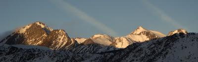 Desde la Ventana. Montañas de la zona del Estany de la Gola.