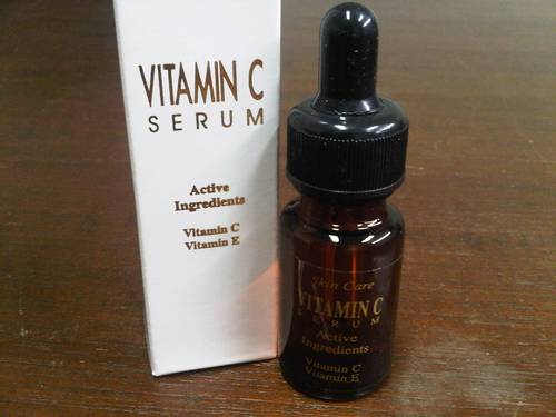 serum vitamin c e