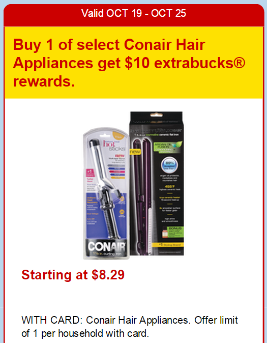 photo regarding Conair Printable Coupons titled Intense Couponing Mommy: Free of charge Conair Curling Irons at CVS