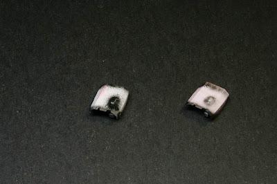 Imprimación de los visores del Land Raider