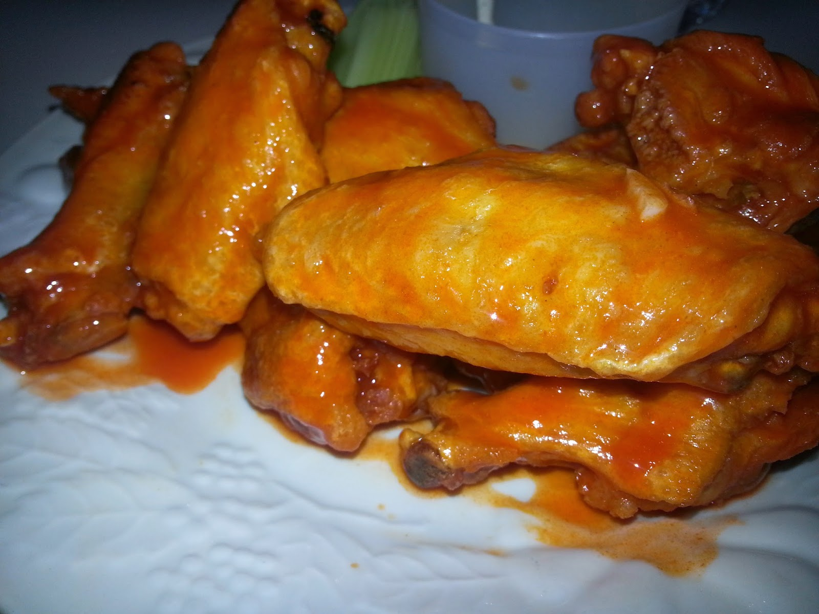 Bad To the Boneworld Hot Wings