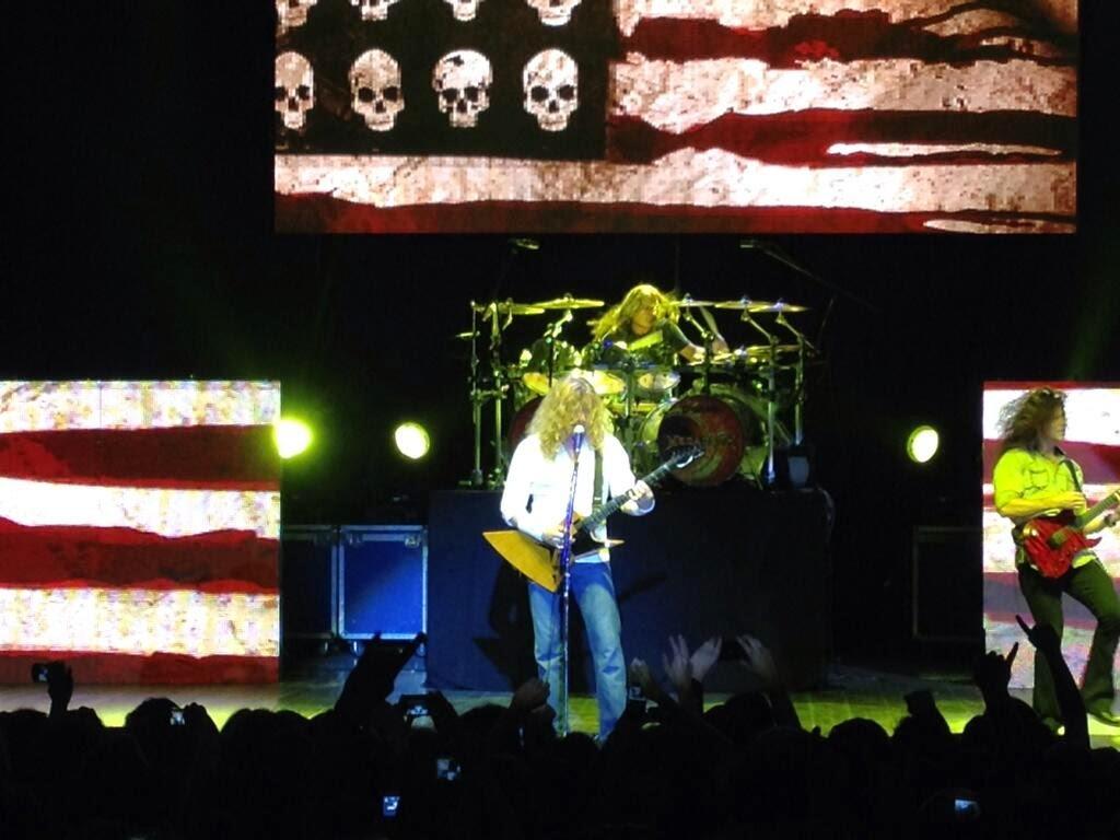 Megadeth in Quito