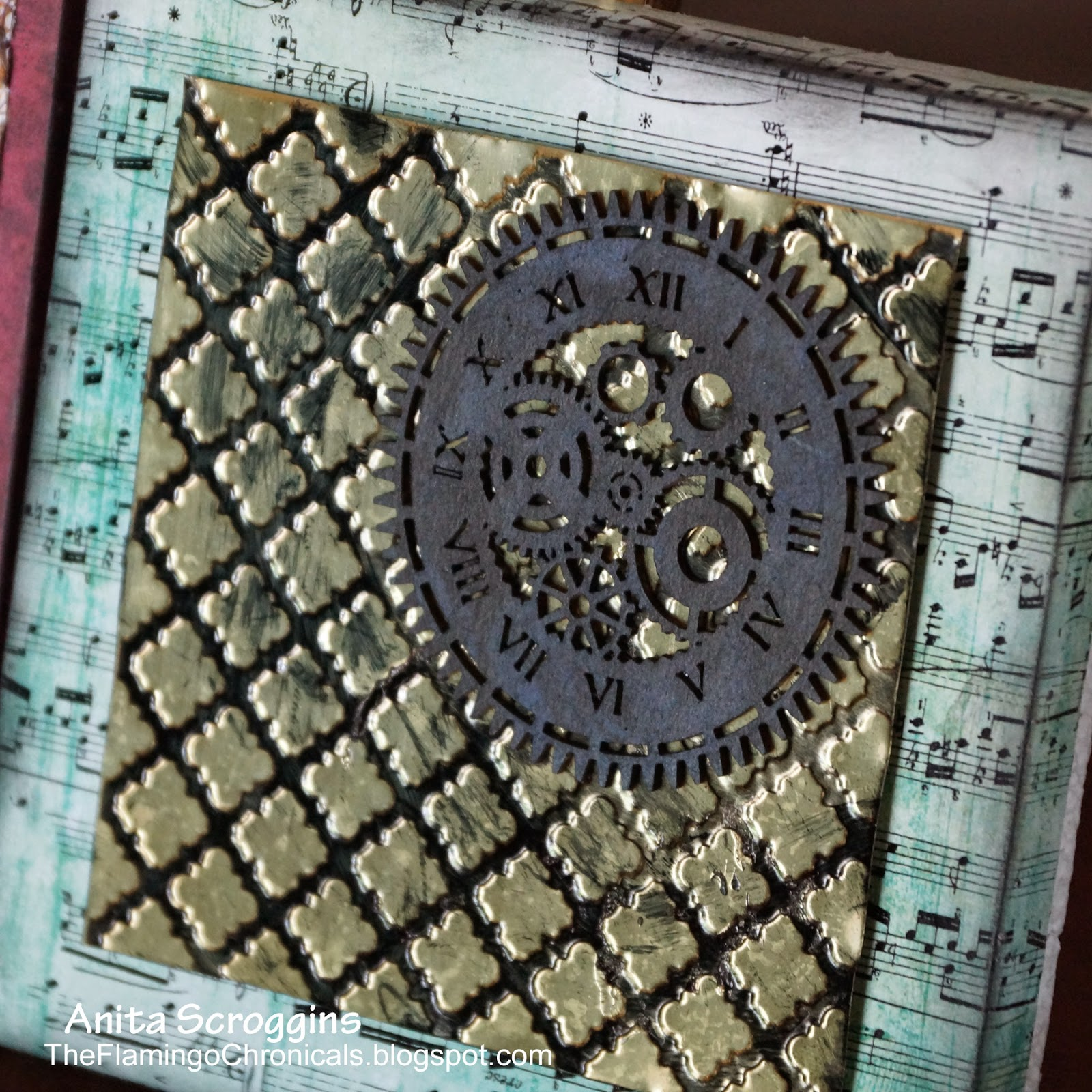 Steampunk Wall Decor With Smoothfoam The Flamingo