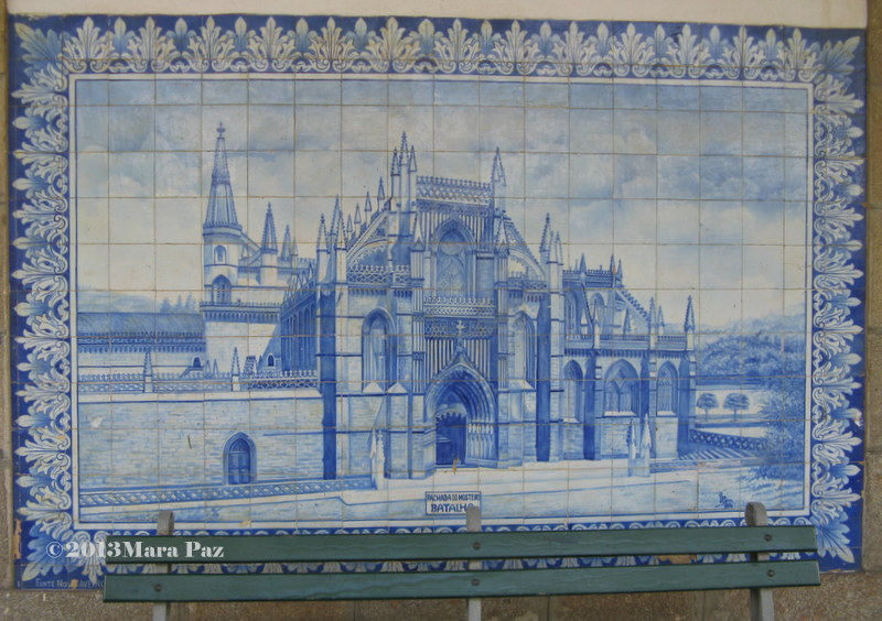 Mosteiro da Batalha em azulejo